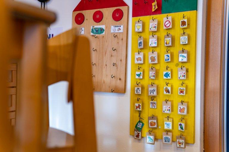 Kindergarten Straß - Brett