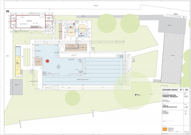 Freibad Miesbach - Plan 2021