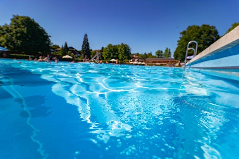 Freibad Miesbach - Wasser
