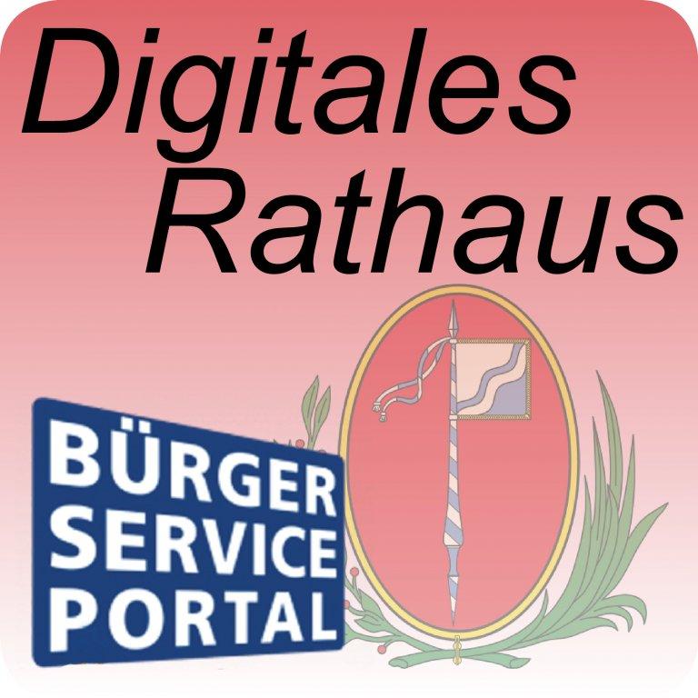 Button Digitales Rathaus